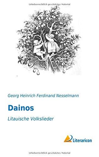 9783959130110: Dainos: Litauische Volkslieder