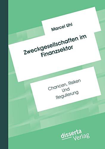 Zweckgesellschaften im Finanzsektor: Chancen, Risiken und Regulierung: Marcel Uhl