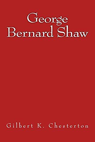 9783959402699: George Bernard Shaw: The original edition of 1909