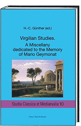 VIRGILIAN STUDIES A MISCELLANY DEDICATED TO THE: Paolo Fedeli