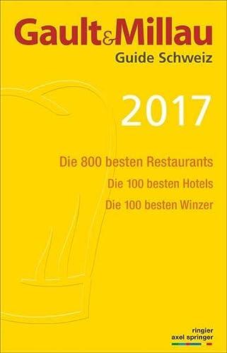 9783959610292: Gault & Millau Schweiz 2017