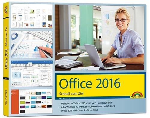 9783959820127: Office 2016 Schnell zum Ziel: Word, Excel, Outlook - Auf einen Blick alles erklärt