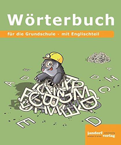 9783960810940: Wörterbuch-für die Grundschule (19x16 cm): mit Englischteil
