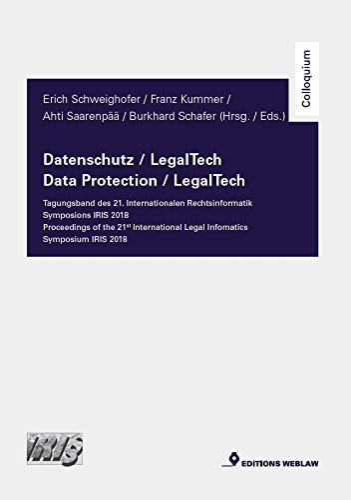 Schweighofer, E: Datenschutz / LegalTech: Schweighofer, Erich; Kummer,