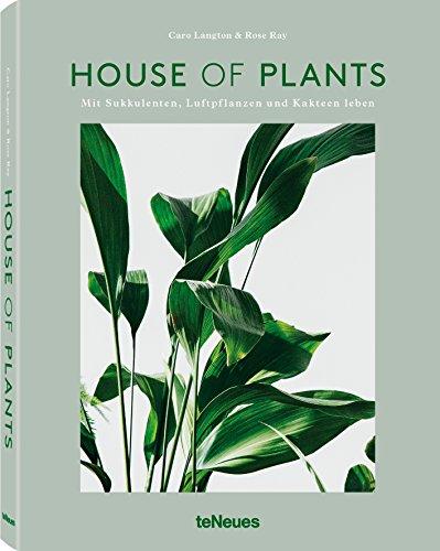 House of Plants: Mit Sukkulenten, Luftpflanzen und Kakteen leben (Hardback): Rose Ray, Caro Langton