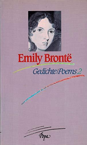Gedichte / Poems 2. Deutsch von Elsbeth Ort. - Bronte, Emily