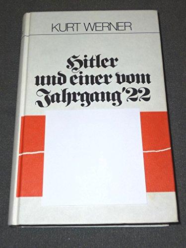 9783980076807: Hitler und einer vom Jahrgang 22