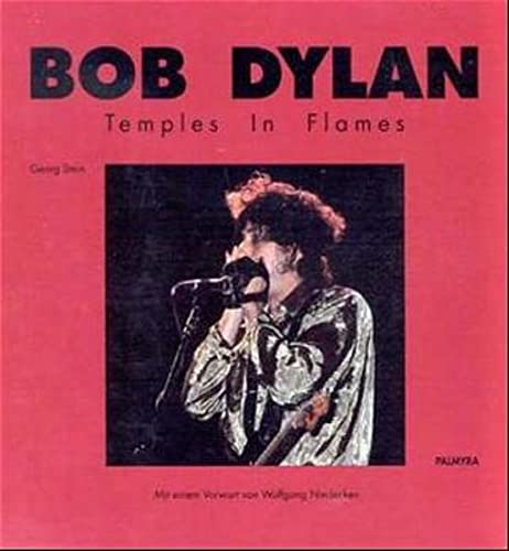 9783980229807: Bob Dylan: Temples in Flames