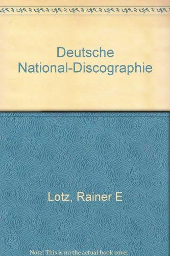 9783980265645: Deutsche National-Discographie