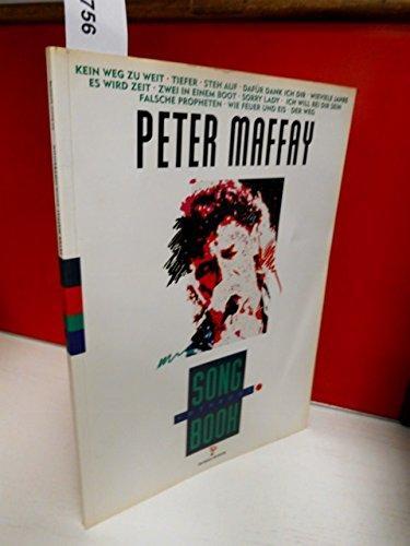 9783980329309: Peter Maffay Songbook