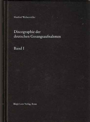9783980346146: Deutsche National-Discographie