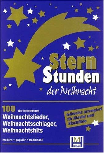 9783980431248: Sternstunden der Weihnacht. Liederbuch