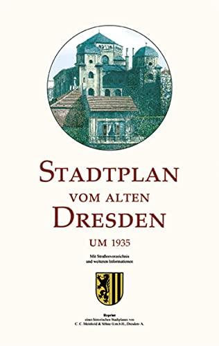 9783980463775: Stadtplan vom alten Dresden um 1935