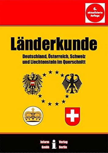 9783980584319: Länderkunde : Deutschland, Österreich, Schweiz und Liechtenstein im Querschnitt.