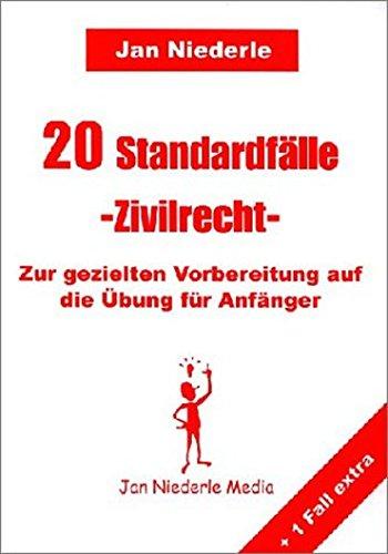9783980693257: 20 Standardfälle, Zivilrecht, Zur gezielten Vorbereitung auf die Übung für Anfänger