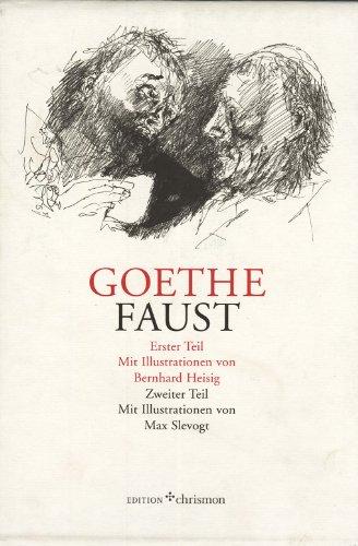 9783980784917: Faust I+II, 2 leinenbände im Schuber