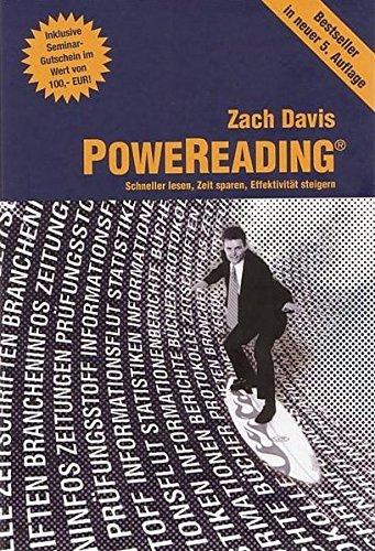 9783980953696: PoweReading - Informationswelle nutzen, Zeit sparen, Effektivität steigern