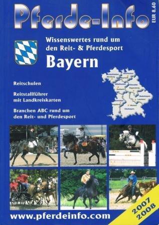 9783980995252: Pferde-Info Bayern