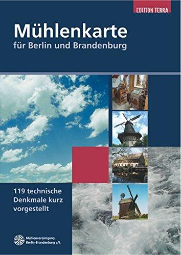 9783981014730: Mühlenkarte für Berlin und Brandenburg