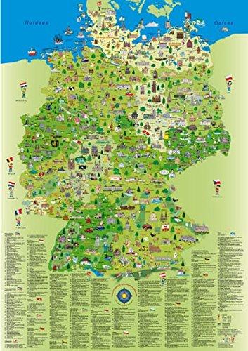 9783981025224 Deutschlandkarte Gross 100 Cm X 70 Cm Zvab