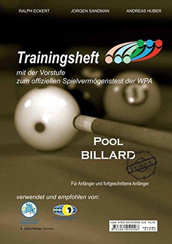 9783981040098: Pool Billard Trainingsheft PAT Start