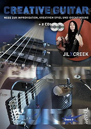 9783981053524: Creative Guitar (E-Gitarre Lehrbuch mit 2 CDs, Noten und Tabulatur)