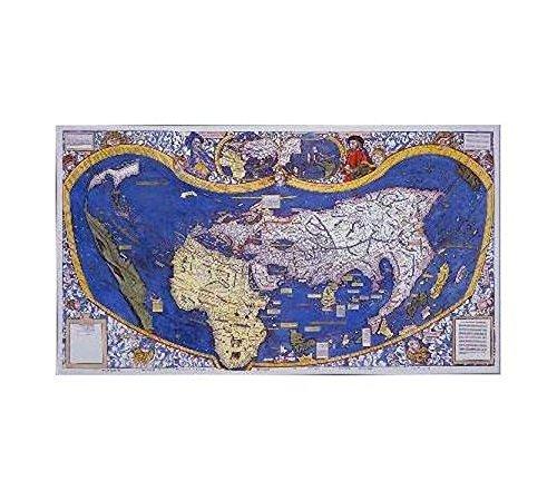 9783981078688: Waldseemüller's Weltkarte von 1507 (Digitaldruck)