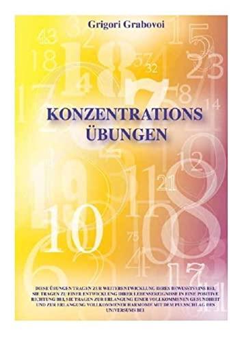 9783981109825: Konzentrationsübungen für 31 Tage: Zur Weiterentwicklung des Bewusstseins, zur Harmonisierung von Ereignissen und zur Erlangung von Gesundheit etc.