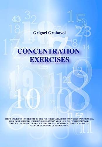 9783981109856: concentration exercises