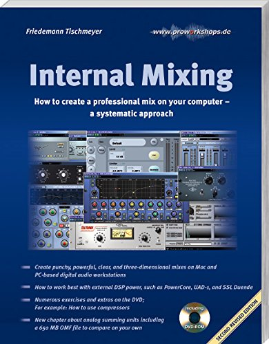 9783981121711: Internal Mixing: How to create a professional mix on your computer – a systematic approach