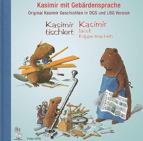 9783981200430: Kasimir mit Geb�rdensprache: Original Kasimir-Geschichten in DGS und LBG auf Video-DVD [Alemania]