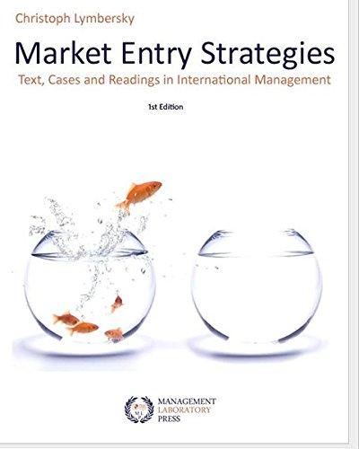 9783981216202: Market Entry Strategies