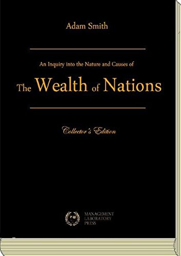 an analysis of the book an inquiry into the nature and causes of the wealth of nations by adam smith An inquiry into the nature and causes of the wealth of nations  by adam smith (first published in 1776)  book iii: of the different progress of  opulence in different nations (307).