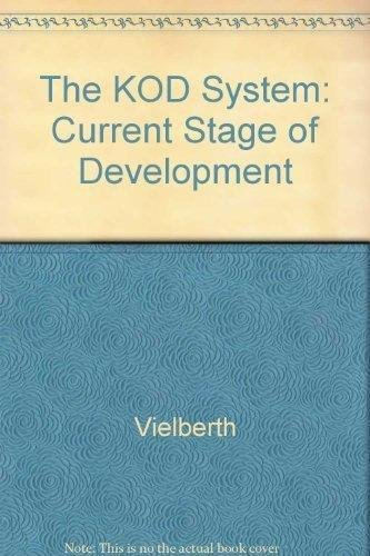 9783981253214: The KOD System: Current Stage of Development