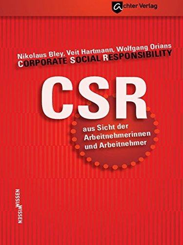 9783981456288: CSR aus Sicht der Arbeitnehmerinnen und Arbeitnehmer
