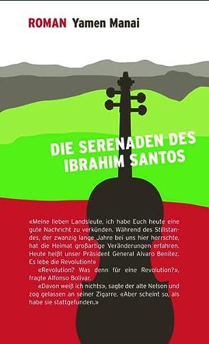 9783981461732: Die Serenaden des Ibrahim Santos