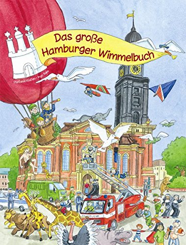 9783981479621: Das Gro�e Hamburger Wimmelbuch