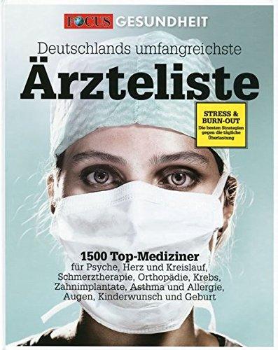 9783981498004: Deutschlands umfangreichste Ärzteliste