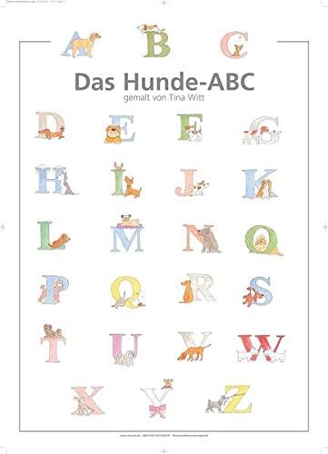 9783981500691: Das Hunde-ABC: ABC-Plakat