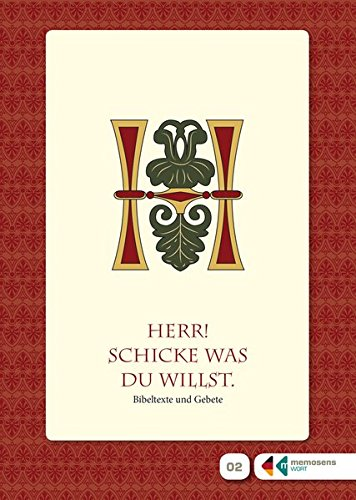 9783981526875: Sprache & Erinnern - Herr! Schicke was Du willst - Bibeltexte und Gebete