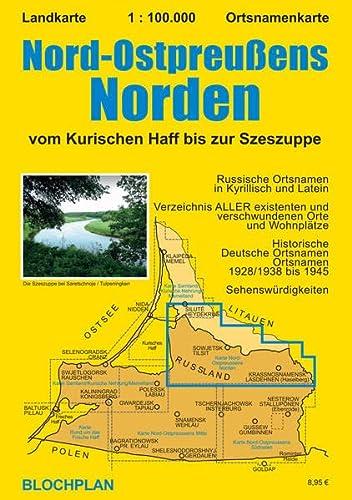 9783981565669: NOP Norden 1 : 100 000: vom Kurischen Haff bis zur Szeszuppe