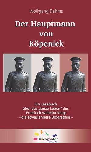 9783981586534: Der Hauptmann von Köpenick