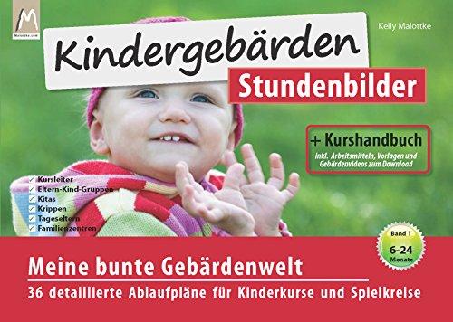 9783981643060: Kindergebärden Stundenbilder (mit Kurshandbuch und Arbeitsmitteln) 01