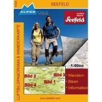 9783990170243: Seefeld 1 : 50 000 Luftbildpanorama und Wanderkarte: Wandern, Biken, Information