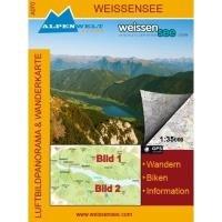 Weissensee 1 : 35 000 Luftbildpanorama & Wanderkarte