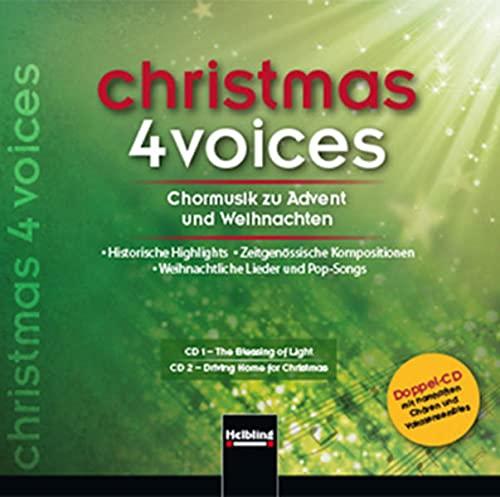9783990350812: christmas 4 voices, Doppel-CD: 57 Choraufnahmen zur Advents- und Weihnachtszeit