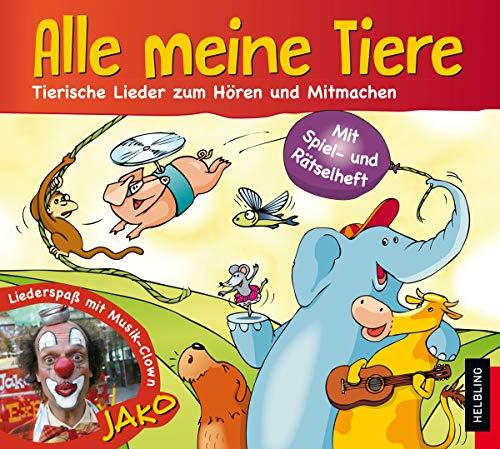 Alle meine Tiere, Audio-CD: Maierhofer, Lorenz