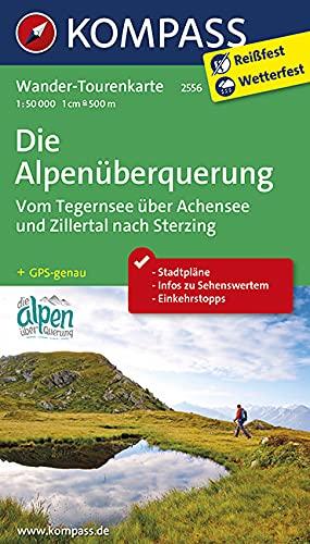 9783990440261: Die Alpenüberquerung - Vom Tegernsee über Achensee und Zillertal nach Sterzing 1 : 50 000: Wander-Tourenkarte. GPS-genau
