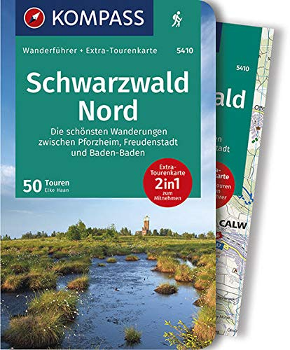 9783990440414: Schwarzwald Nord: Die schönsten Wanderungen zwischen Pforzheim, Freudenstadt und Baden-Baden mit Extra Tourenkarte zum Mitnehmen