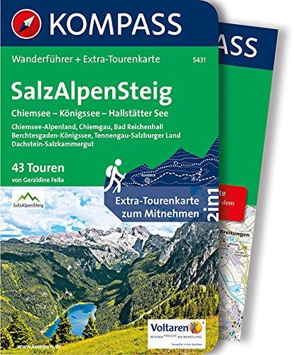 9783990440421: SalzAlpenSteig, Chiemsee - Königssee - Hallstätter See
